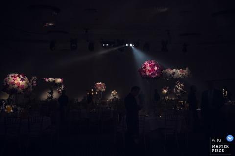Hochzeitsfoto Londons England von der Aufnahme mit drastischer Beleuchtung.