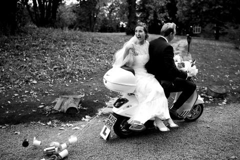 El fotógrafo de bodas Martin Beddall de West Sussex, Reino Unido