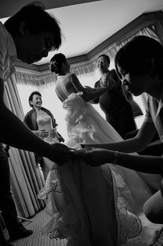 El fotógrafo de bodas René Gaviola de la Columbia Británica, Canadá