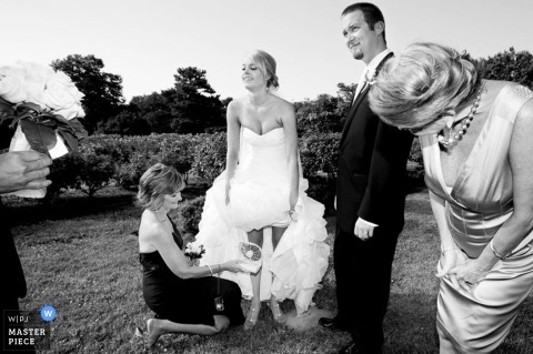 Fotografo di matrimoni Heather Hughes Ostermaier della Virginia, Stati Uniti