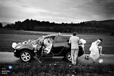 Photographe de mariage Samo Rovan de, Slovénie