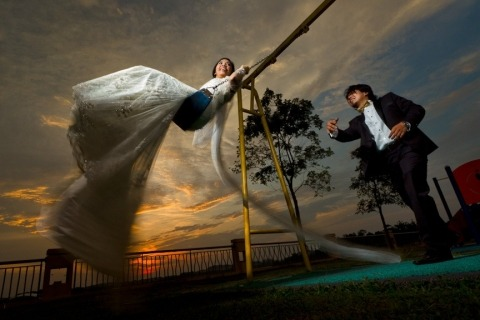 Fotografo di matrimoni Steven Leong di Selangor, Malesia