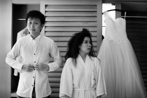Hochzeitsfotograf Wansheng Chen von, Singapur