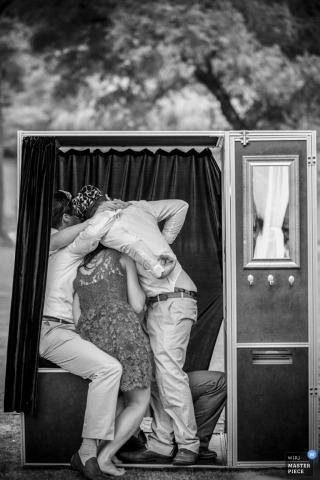 加利福尼亞,美國的婚禮攝影師丹尼斯Viera
