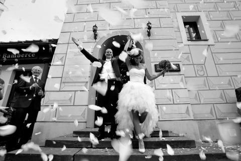 Fotógrafo de bodas Olek Honca de Mazowieckie, Polonia