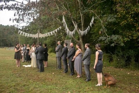 Fotografo di matrimoni Justin Cook della North Carolina, Stati Uniti