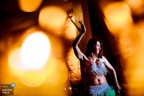 Badem Wurrtemburg Wedding Photojournalism | Image contains: wedding reception, entertainment, dancing, performer