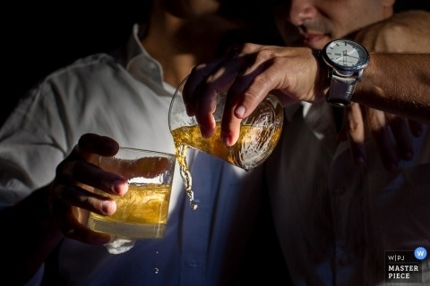Rio de Janiro Wedding Photographer   Image contains: drinks, detail shot, wedding reception