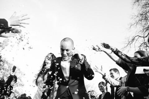 El fotógrafo de bodas Dan Bold de Dorset, Reino Unido