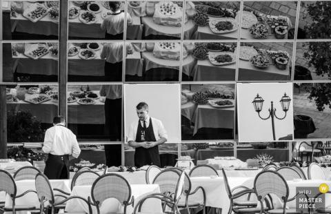 Cosenza-mannen die de ontvangstlijsten klaar maken - Calabria-huwelijksfoto