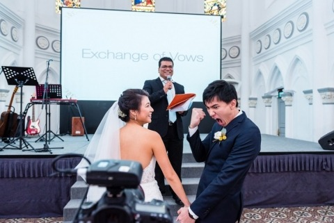 Wedding Photographer David Teo of , Singapore