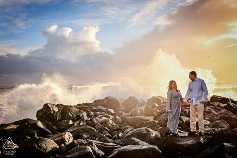 Fotos de Maryland de una pareja por un importante fotógrafo de bodas en Baltimore