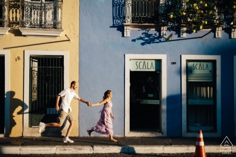Federal District destination wedding photography | Brasil urban engagement photographers