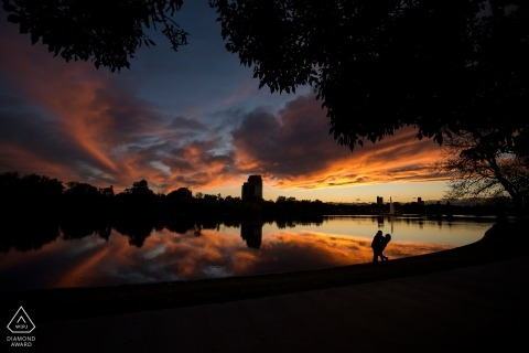 Denver City Park Engagement | CO Wedding Photography