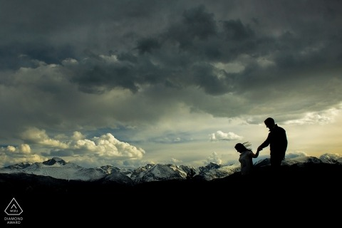 Rocky Mountain National Park Engagement Photos | Estes Park Wedding Photographer
