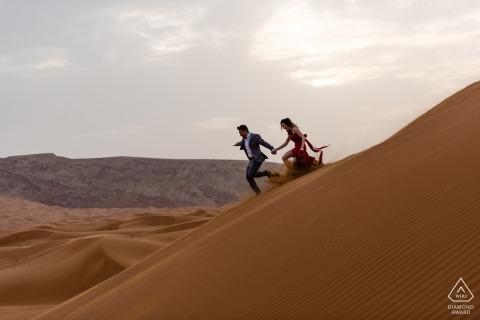 Servizio di fidanzamento nel deserto | Fotografia di matrimonio degli Emirati Arabi Uniti