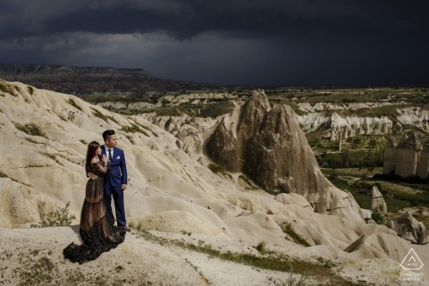 Séance photo d'engagement de la Cappadoce en Turquie
