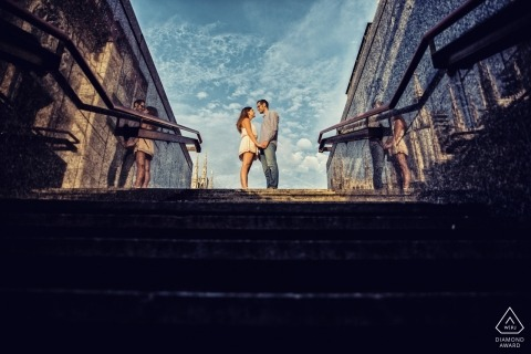 Milan destination wedding photography | Lombardy engagement photographers