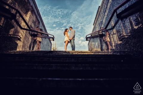 Milan destination wedding photography | Lombardy engagement photographers
