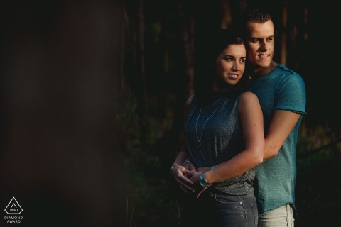 NL engagement pictures of a couple In love | Noord Brabant photographer pre-wedding shoot with photographer
