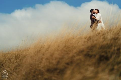 Verlobungsshooting bei Durdle Door von Rohit Gautam Sai Digitaler Hochzeitsfotograf | London Fotografie
