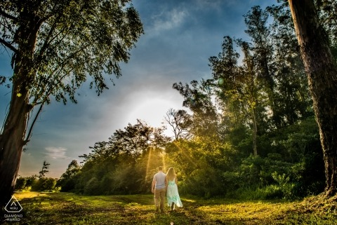 Vinicius Fadul - engagement Session in the Trees and Sun of São Paulo Brazil