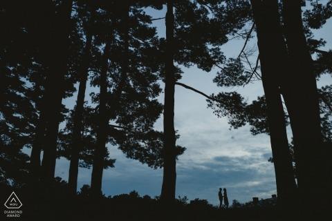 Dokumentalna fotografia ślubna Stephena Grigoriou Fotografa zaangażowania New Hampshire