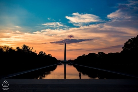 Washington DC Vorhochzeit Verlobungsfotografie - VA Fotografen