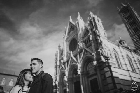 Engagement session in Siena | Tuscany wedding photographer
