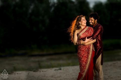 Utrecht wedding engagement photos for Netherlands couples