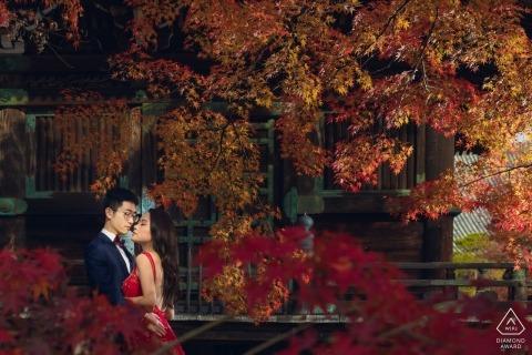 China wedding engagement photos for Hangzhou City couples