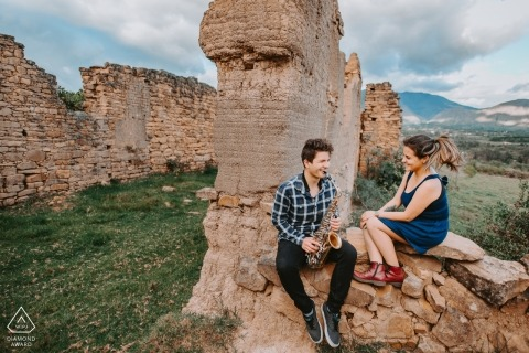 Pre-wedding photography in Colombia - Villa de Leyva