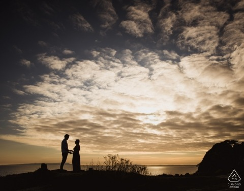 Dorset, England Wedding Engagement Photography for couples