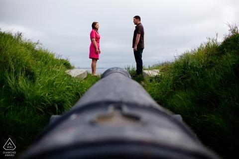 Portretfotograaf uit New Hampshire Pre-Wedding | Fotografie uit de VS.