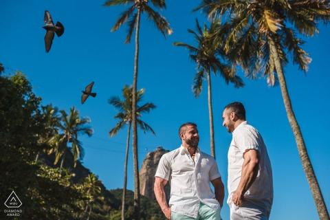 Een pre-huwelijksportretzitting van Rio de Janeiro door een fotograaf uit Brazilië