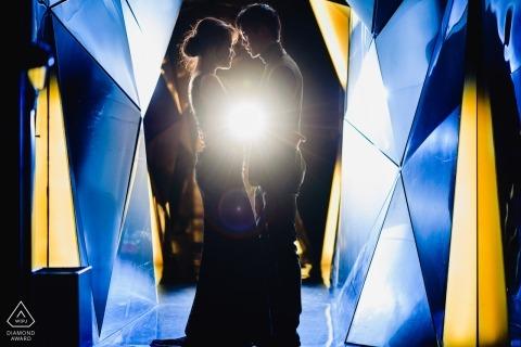 Photographe de mariage en Espagne pour la photographie de fiançailles à Madrid