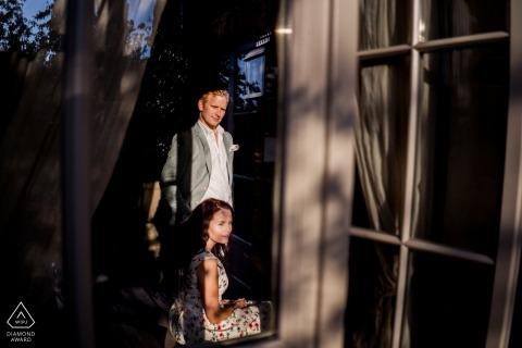 Verlobtes paar porträt in schönen licht | Prewedding Session in Borgo Santo Pietro | Verlobung Borgo Santo Pietro