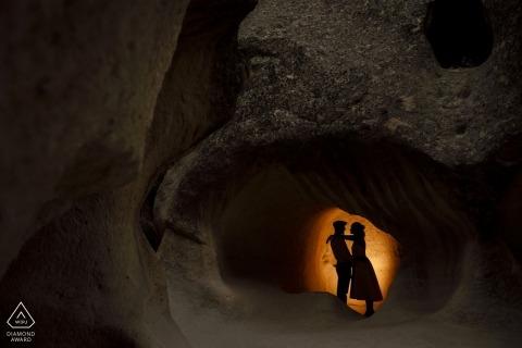 Turkije Pre Wedding portret sessie in de grot