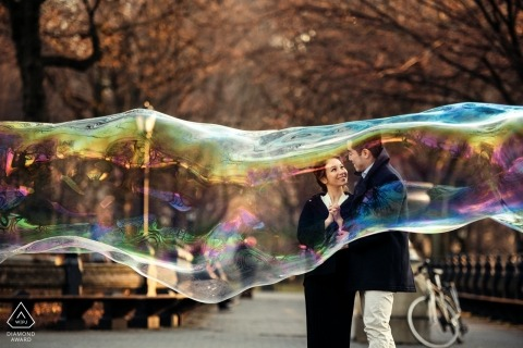 Wenjie Han, of New York, is a wedding photographer for
