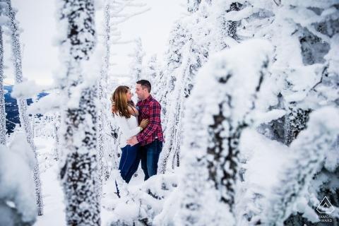Eric McCallister, uit New Hampshire, is een trouwfotograaf voor
