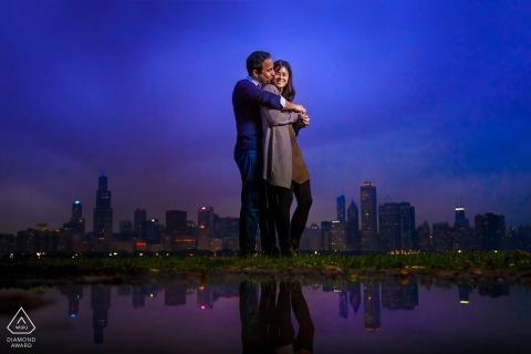 Travis Haughton, of Illinois, is a wedding photographer for
