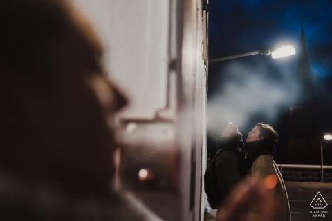 Oleg Rostovtsev, van Niedersachsen, is een trouwfotograaf voor