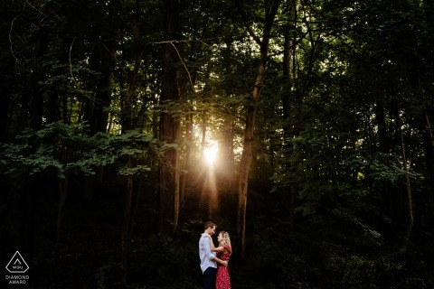 Jacob Hannah, uit Vermont, is een trouwfotograaf voor