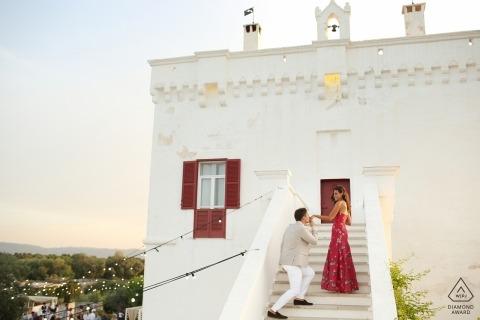 Marco Odorino, de Bari, es un fotógrafo de bodas para