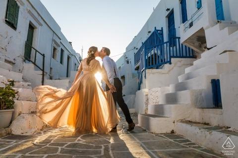 Giorgos Galanopoulos, of, is een trouwfotograaf voor