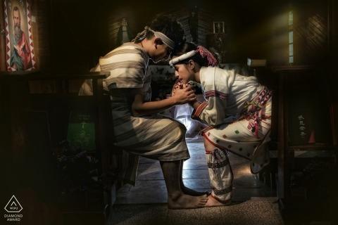 Tao Hsuan Tzu, of , is a wedding photographer for