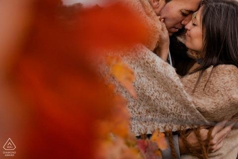 Monika Zaldo, van Guipuzcoa, is een trouwfotograaf voor