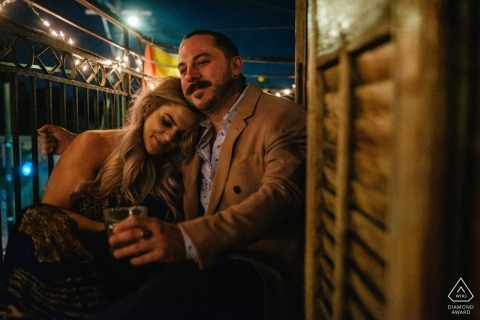 Danny Klimetz, of Mississippi, is a wedding photographer for