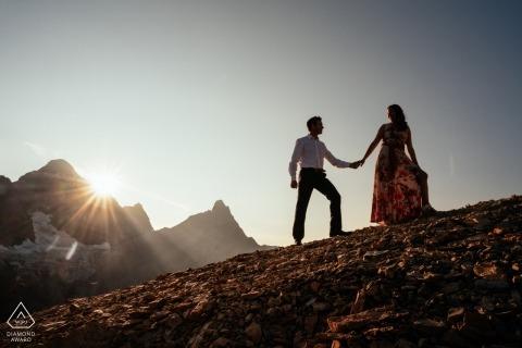 Dorota Karpowicz, of Alberta, is a wedding photographer for