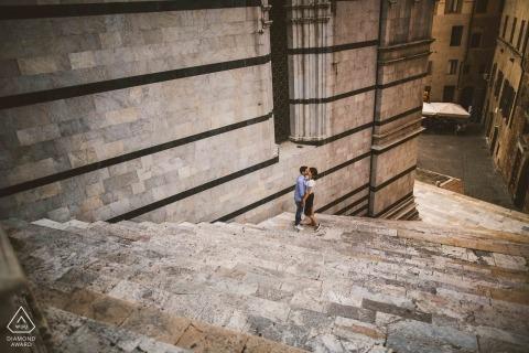 Pietro Tonnicodi, of Siena, is a wedding photographer for